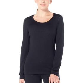 Icebreaker 200 Oasis Koszulka z długim rękawem Kobiety, black